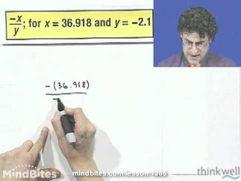 Pre-Algebra: Dividing Decimals (Long Division)