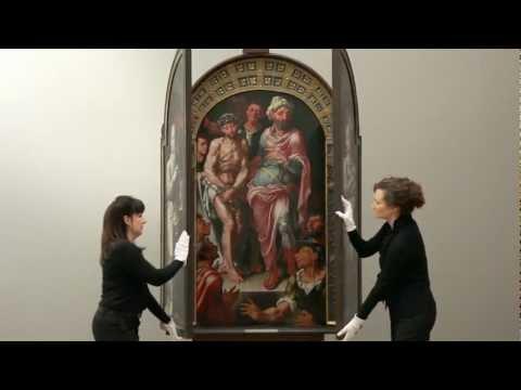 """Opening Heemskerck's """"Ecce Homo"""" Altarpiece"""