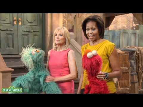Sesame Street: Behind the Scenes of PSA shoot