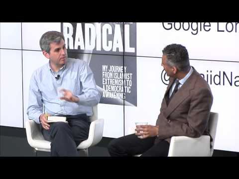 Authors@ Maajid Nawaz | Radical | Google London | 2012