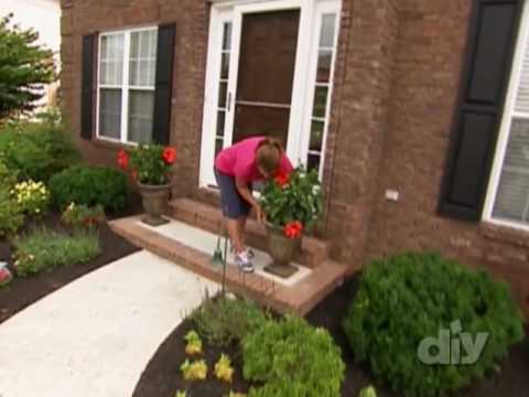 Improving Curb Appeal-DIY