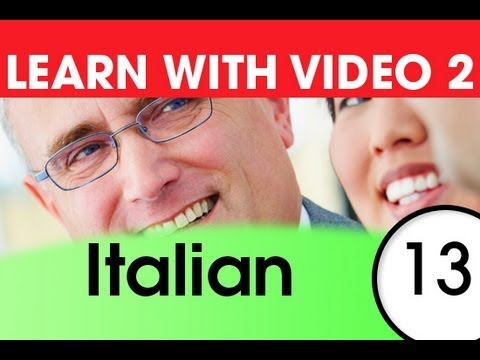 Learn Italian with Video - Learning Through Opposites 3