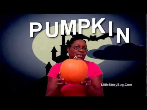 Preschool Halloween Activity - Let's Spell Pumpkin- Littlestorybug