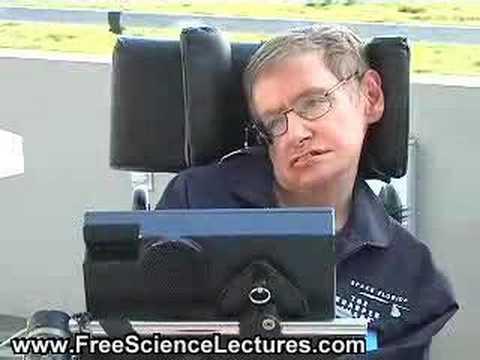 Stephen Hawking Takes a Zero-Gravity Flight