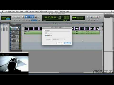 How to import audio into Pro Tools | lynda.com tutorial