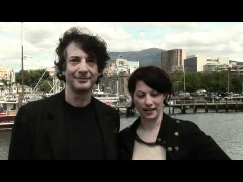 Bookend Trust - Neil Gaiman and Amanda Palmer launch the 2011 Tasmanian Envirothon