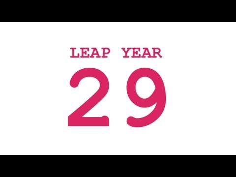 29 and Leap Years - Numberphile