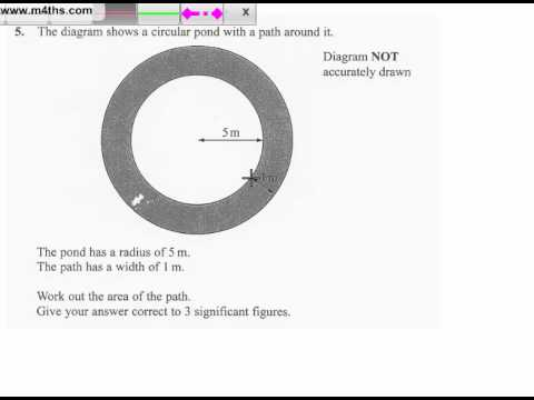 q5 Edexcel Linear Higher June 2011 calculator (quick worked example)