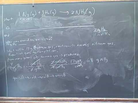 Stoichiometry. ICE tables. Limiting reagent (12)