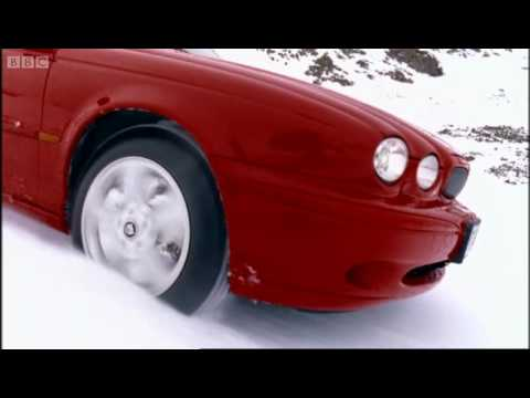 Driving down a ski slope! - Speed - BBC