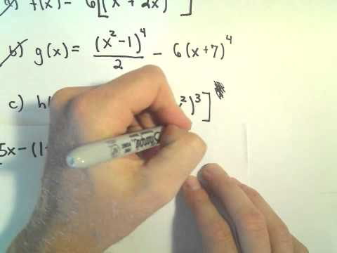 More Chain Rule Examples #3