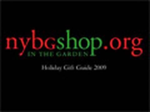 NYBGShop in the Garden Holiday Gift Guide 2009