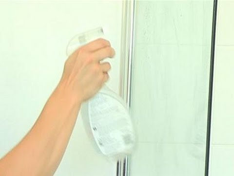 How To Clean The Glass On Your Shower