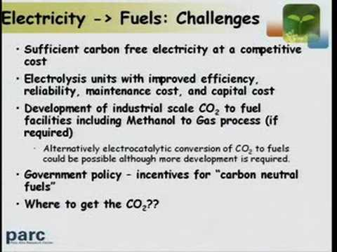 Carbon Neutral Synthetic Hydrocarbon Fuels