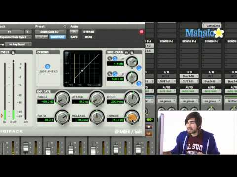 Using a Gate - Pro Tools 9