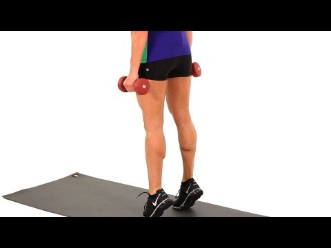 Toning Workouts: Calf Raises | Sexy Legs Workout