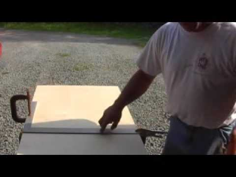 How to use a circular saw cutting plywood