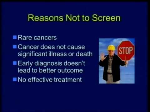 Cancer Screening: Why It's Not Always an Option