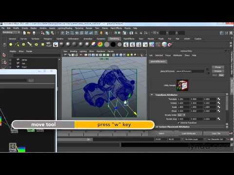 Maya tutorial: How to use ramp texture   lynda.com