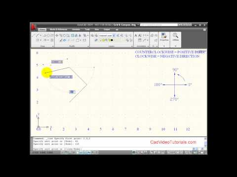 Autocad Tutorial - Using Dynamic Input