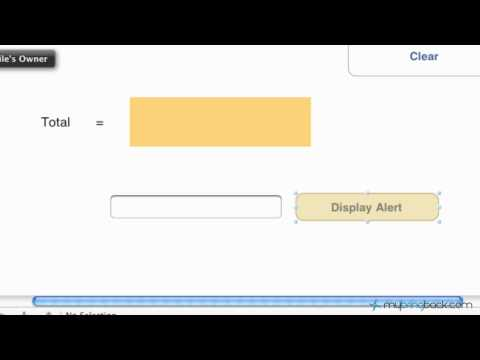 Learn Xcode 4 Tutorial iOS iPad iPhone 1.8 Basic Alert View with Options