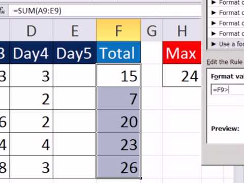 Excel Magic Trick 850: Conditional Format More Than 24 Hours (3 Examples)
