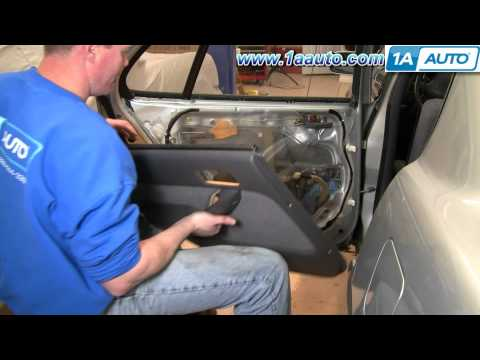 How To Install Replace Rear Inside Door Handle Toyota Camry 92-96 1AAuto.com