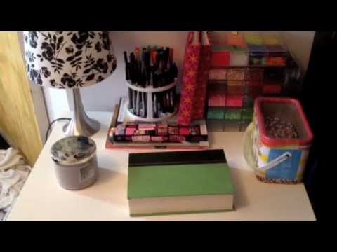 Craft Supply Storage (the bedroom portion)
