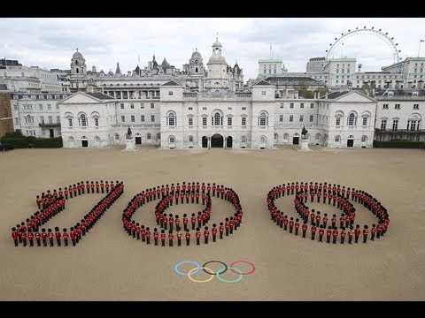 100 days to go at Horse Guards Parade