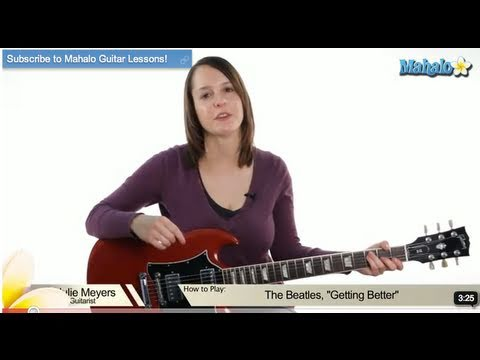 "How to Play ""Getting Better"" by The Beatles on Guitar (Lead)"