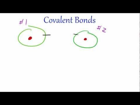 Chemistry Lesson - 27 - Covalent Bonds