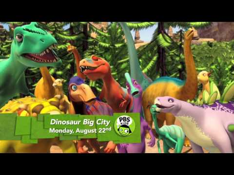 Dinosaur Train | Dinosaur Big City -- coming August. 22 | PBS KIDS