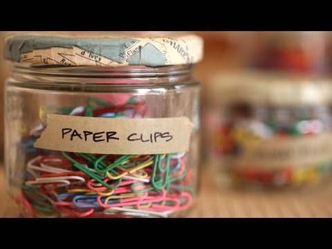 DIY Decoupaged Storage Jars: Make It (How to) || KIN DIY