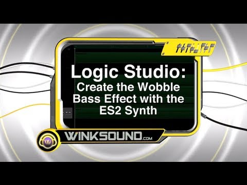 Logic Pro: Create the Wobble Bass Effect with the ES2 Synth | WinkSound