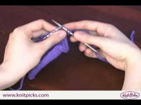 Knit Stitch - English