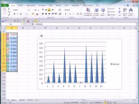 Five Year Old Shows How To Make Cacti and Sharp Spikes in Excel