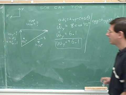 Physics: Vector components (82)