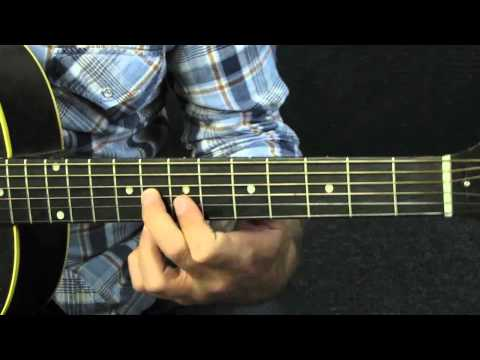 beginner guitar lesson blues lick in A