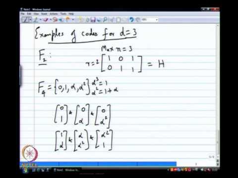 Mod-01 Lec-10 Computations in Finite Fields