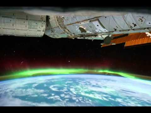 Aurora Australis, Seen From Space