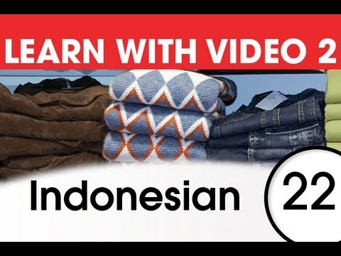 Learn Italian with Video - Get Dressed -- and Undressed -- with Italian