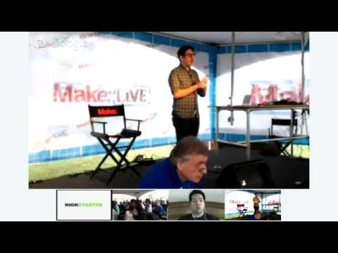 Kickstarter with Yancey Strickler on Make: Live Stage at World Maker Faire 2012