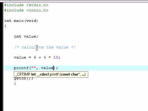 C Programming Tutorial - 3 - Comments and Math Functions