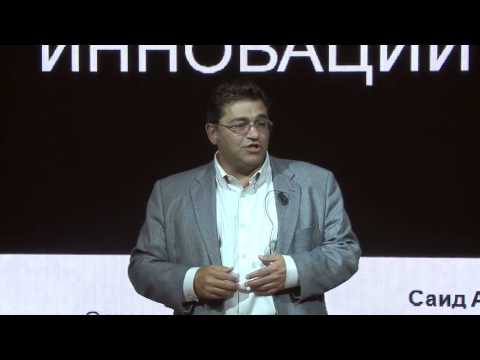Future of IT and business innovations: Saeed Amidi at TEDxKapranovaSt