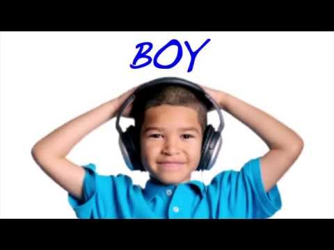 Learn English Words: Boy/Girl