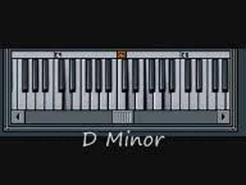 Piano Basics Lesson Step 6 - Arpeggios From A Minor (Triads)