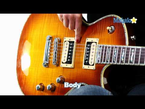 Learn Guitar: Parts of the Electric Guitar