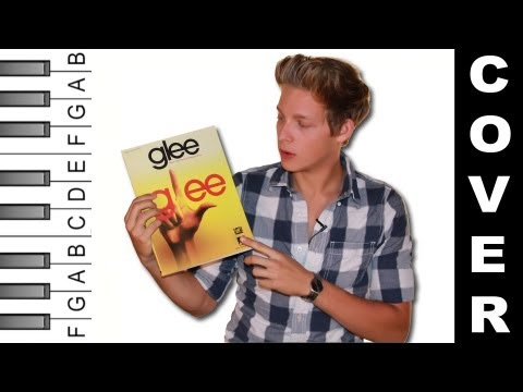 "How to Play ""Valerie"" (Glee Version) on Piano (Practice Cover)"