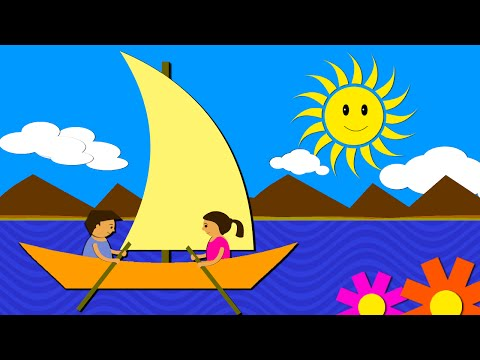 Row Row Row Your Boat - Nursery Rhyme