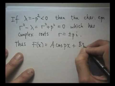 Heat equation + Fourier series + separation of variables